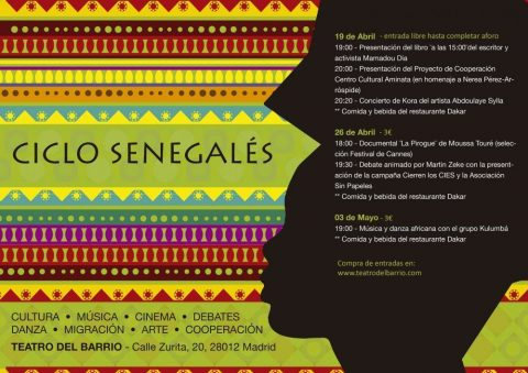 MARTES CIUDADANOS – Ciclo Senegalés