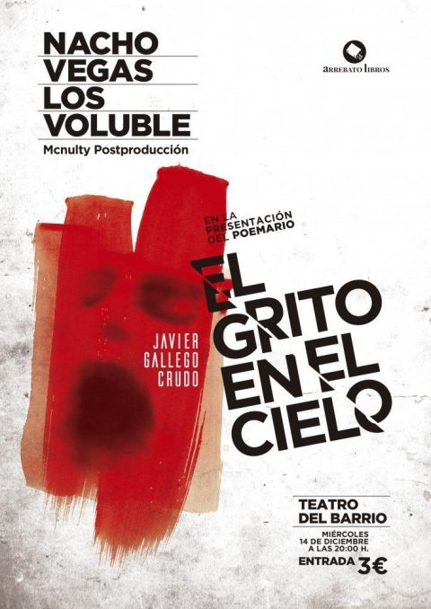 Presentación poemario «EL GRITO EN EL CIELO» de Javier Gallego