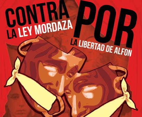 Acto contra la Ley Mordaza