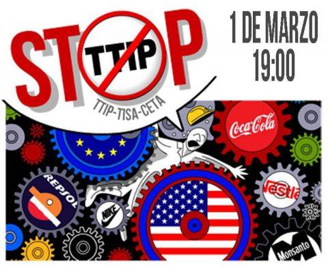 MARTES CIUDADANOS – No al TTIP
