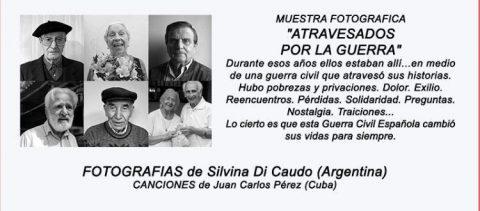 MARTES CIUDADANOS – Atravesados por la guerra. Muestra fotográfica