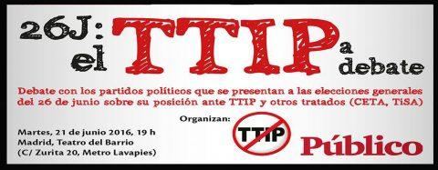 26J: el TTIP a debate