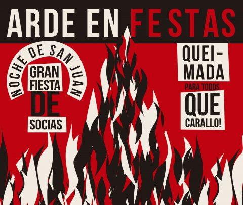FIESTA DE SOCIAS. NOCHE DE SAN JUAN