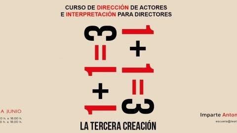 La Tercera Creación. 1 + 1 = 3. Con ANTONIO DOMÍNGUEZ