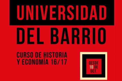 Universidad del Barrio 2016/2017