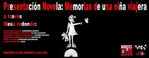 MARTES CIUDADANOS – Presentación libro «Memorias de una niña viajera»