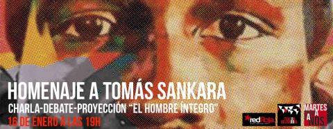 MARTES CIUDADANOS – Homenaje a Tomás Sankara
