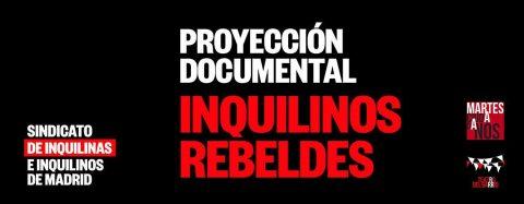 MARTES CIUDADANOS – Proyección documental INQUILINOS REBELDES