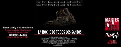 MARTES CIUDADANOS – Proyección «LA NOCHE DE TODOS LOS SANTOS»