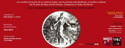 MARTES CIUDADANOS – 50 años del mayo del 68 francés