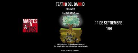 MARTES CIUDADANOS – Proyección documental «SITIO DISTINTO»
