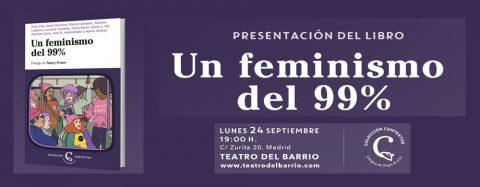 Presentación libro «Un feminismo del 99%» – Colección Contextos