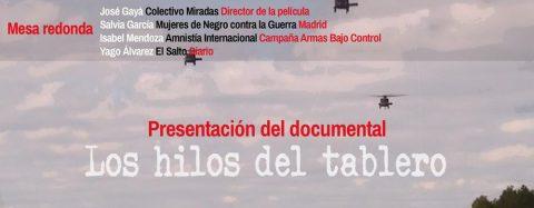MARTES CIUDADANOS – Proyección del documental LOS HILOS DEL TABLERO