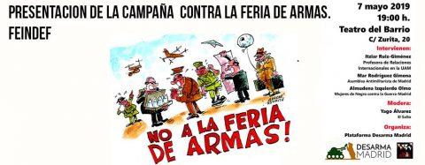 MARTES CIUDADANOS – Presentación de la Campaña Contra la Feria de Armas