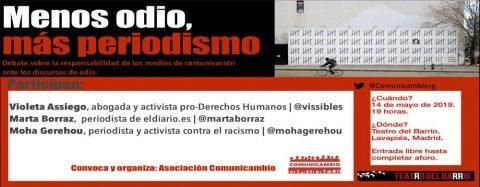 MARTES CIUDADANOS – Menos odio, más periodismo. Debate