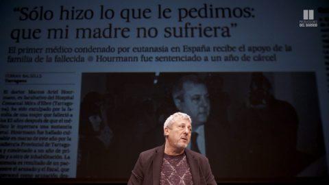 Jordi Évole y Alberto San Juan presentan <i>Celebraré mi muerte</i>
