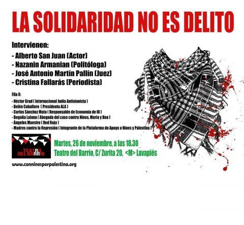 Martes ciudadanos- La solidaridad no es delito