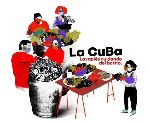 Plataforma La CuBa. Reparto de alimentos
