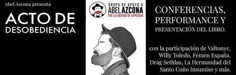 Abel Azcona presenta Acto de Desobediencia