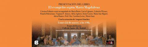 El evangelio según María Magdalena, de Cristina Fallarás